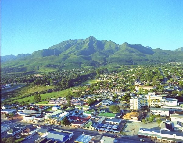 George the centre of the Garden Route