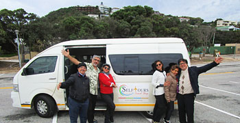 Guided coach tours of South Africa