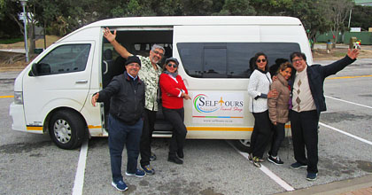 Selftours personalised guided coach tour of South Africa