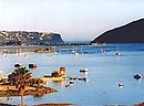 View of Knysna lagoon - 4 day garden route bus tours ex Cape Town