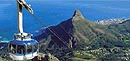 Table Mountains' cable car - South Africa bus tour