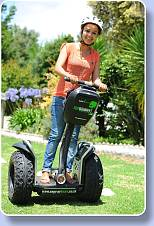 Off-Road Segway tours through the forests