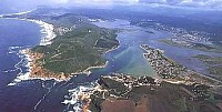Knysna lagoon - South African Holiday special