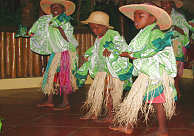 Cultural danceing to which you are encouraged to join in