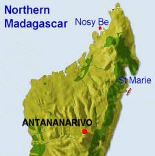 Northern Part of Madagascar Island