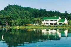 Knysna Guest House over looking the lagoon