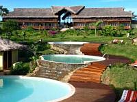 Vanlla Hotel Ocean rooms on Nosy Be Island Madagascar