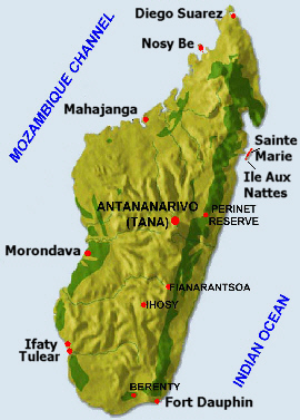 Madagascar holiday packages madagascar island adventure holiday madagascar map island holidays by selftours publicscrutiny Image collections